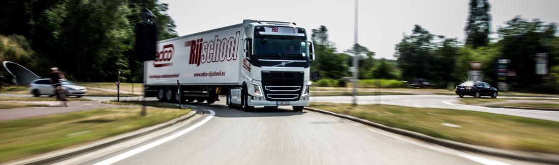 Vrachtwagen rijbewijs C + E